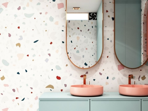 10 ways to integrate terrazzo ceramics into your decorations