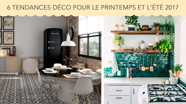 6 tendances d co incontournables pour le printemps et l t 2017 d co surfaces. Black Bedroom Furniture Sets. Home Design Ideas