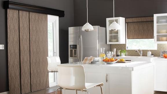 panneau coulissant store habillage de fen tre. Black Bedroom Furniture Sets. Home Design Ideas