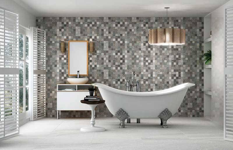 Self-supporting baths are often the centrepiece of the bathroom