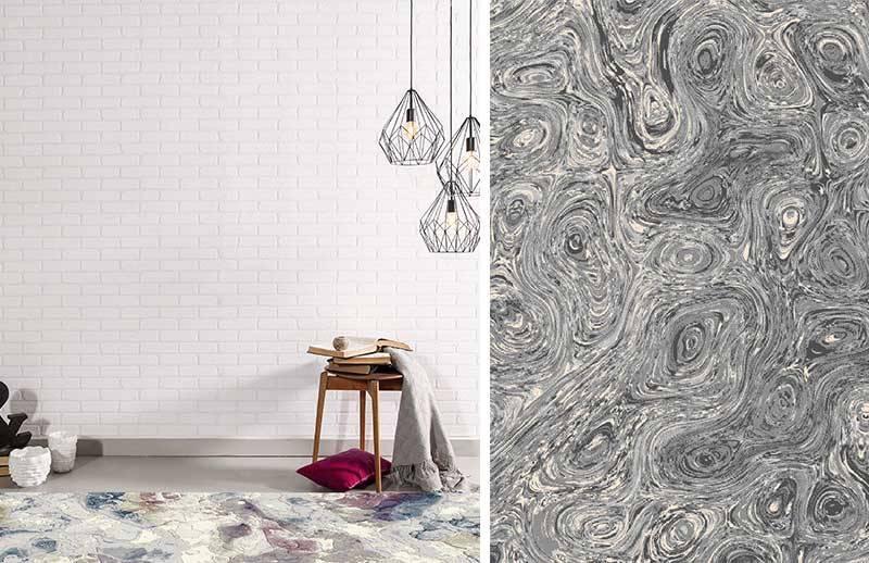Les carpettes à motifs abstraits et graphiques sont tendances en 2019