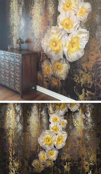 La murale de papier peint parfaite pour les amateur d'antiquités