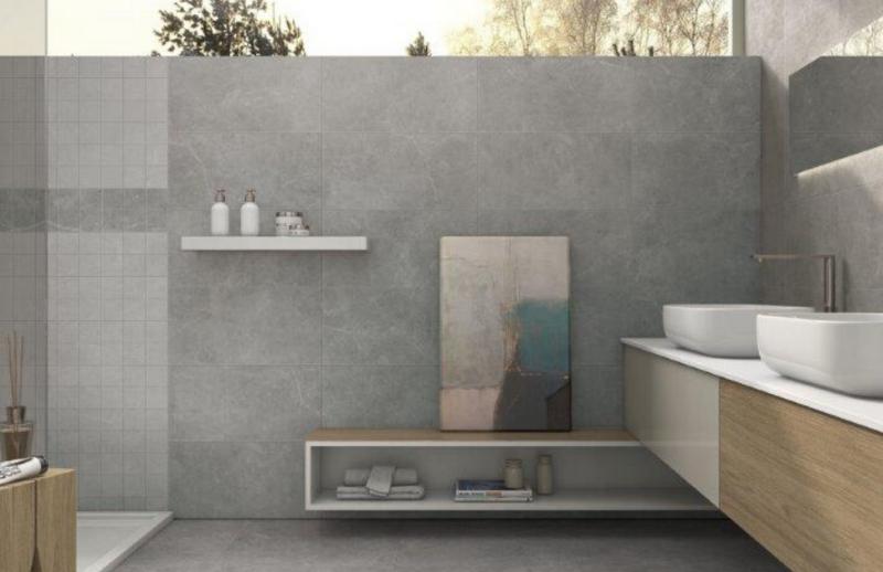 Céramique dans une salle de bain